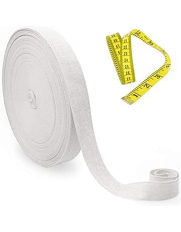 Un cadeau spécial pour vous crème /& gris 100/% Coton Ruban bobine 5 m Craft Cadeau