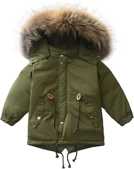 M2C Girls Hooded Puffer Down Jacket Warm Winter Coats