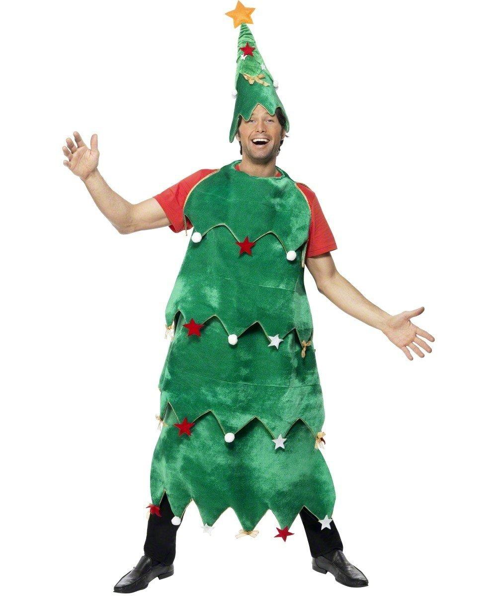 Smiffys - Disfraz de árbol de navidad adultos, talla S (33301 ...