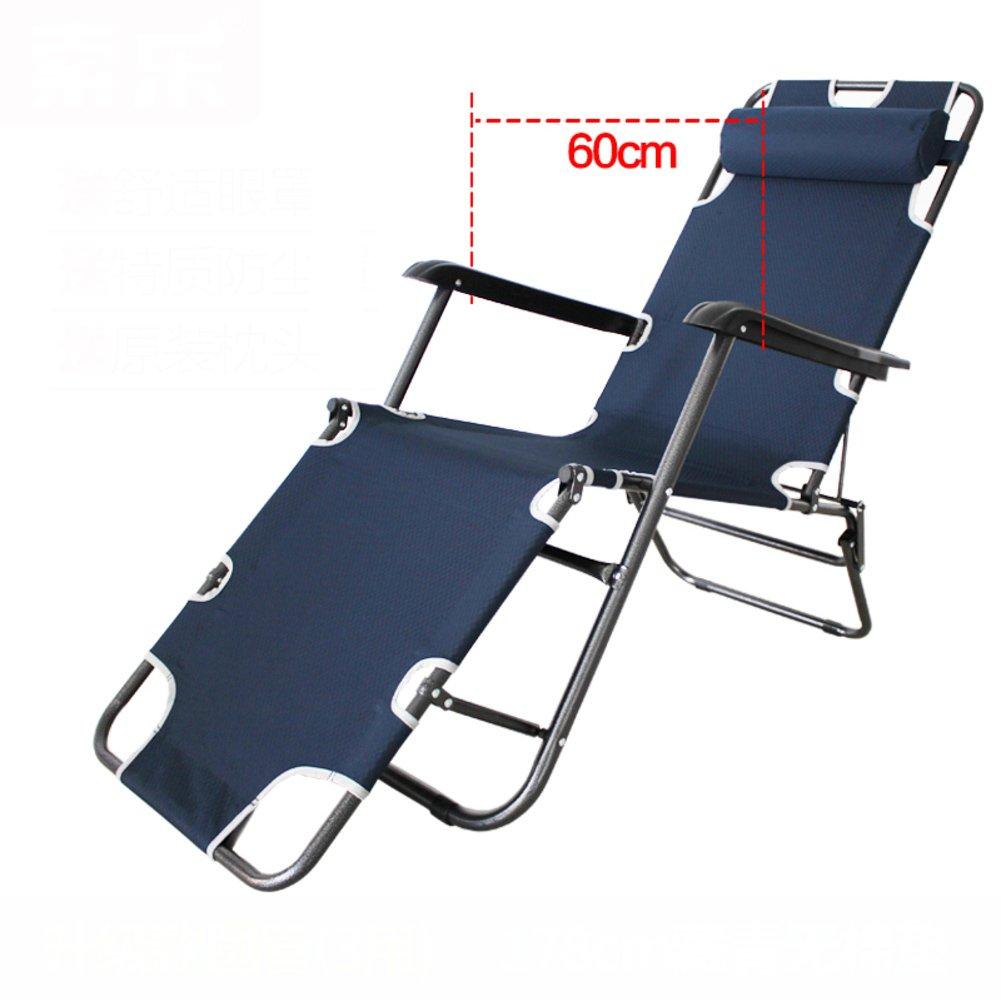 L&J デッキチェア, オフィス 無重力 ラウンジチェア 可能 折りたたみ椅子, バルコニー パティオ ビーチ プール 屋外 アウトドアチェア 花火大会 B07F5GVJCZ  A