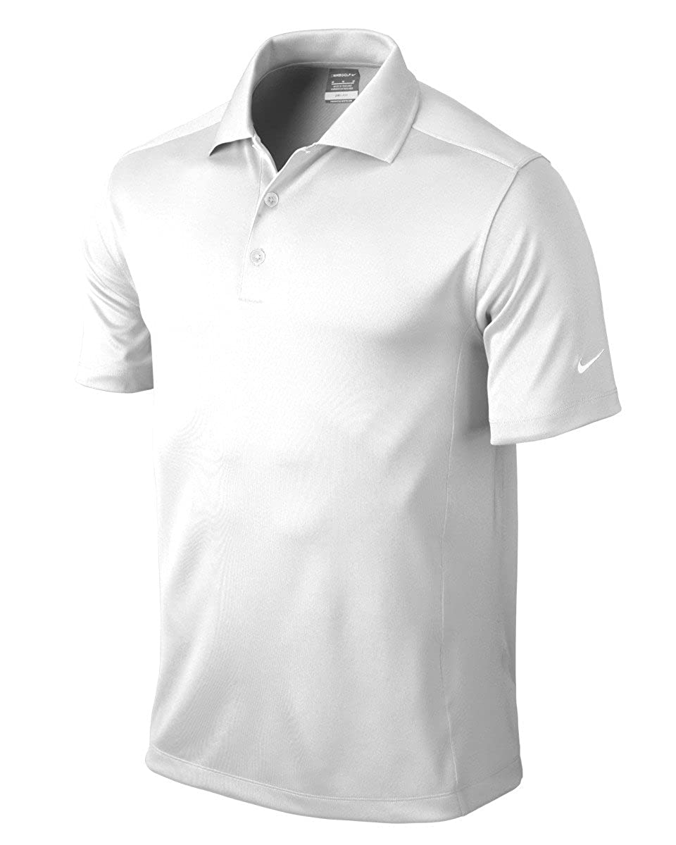 Nike Golf Dri-Fit Solid Polo White 2XL by Nike: Amazon.es ...