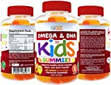 Coconut Oil Gummies Kids Complete Omega Gummy Vitamins: Omega 3-6-9 DHA from Algae, Chia & Coconut Oil - Vegetarian (60 count)