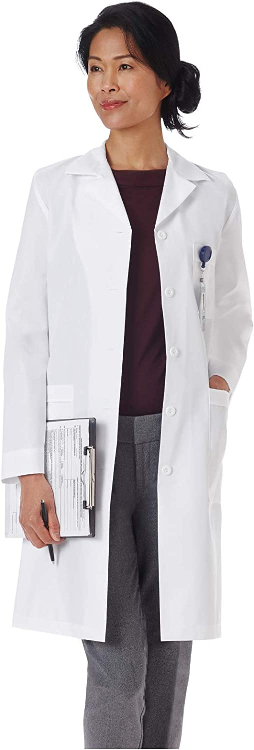 "Meta 17010 Women's 39"" Nano-Care Lab Coat: Industrial & Scientific"