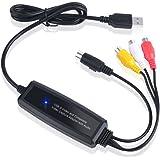 V.TOP USB接続ビデオキャプチャーケーブル(S端子/コンポジット端子対応) - Sビデオやコンポジットビデオをキャプチャしデジタルメディアに変換