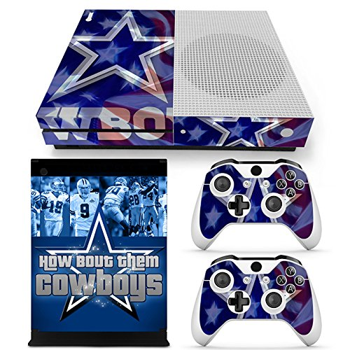 - GoldenDeal Xbox One S Console and Wireless Controller Skin Set - Football NFL - XboxOne S Vinyl