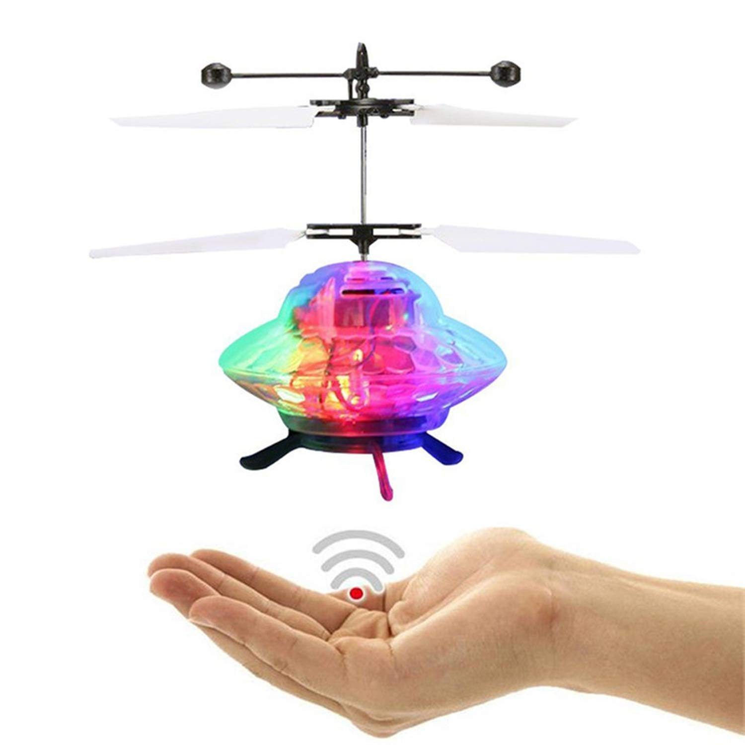 Hand Flying Ball Mini Induction Suspension RC Aircraft Flying Toy Drone