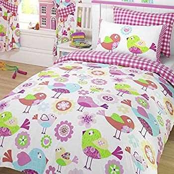 Tweet Tweet Double/US Full Duvet Cover and Pillowcase Set