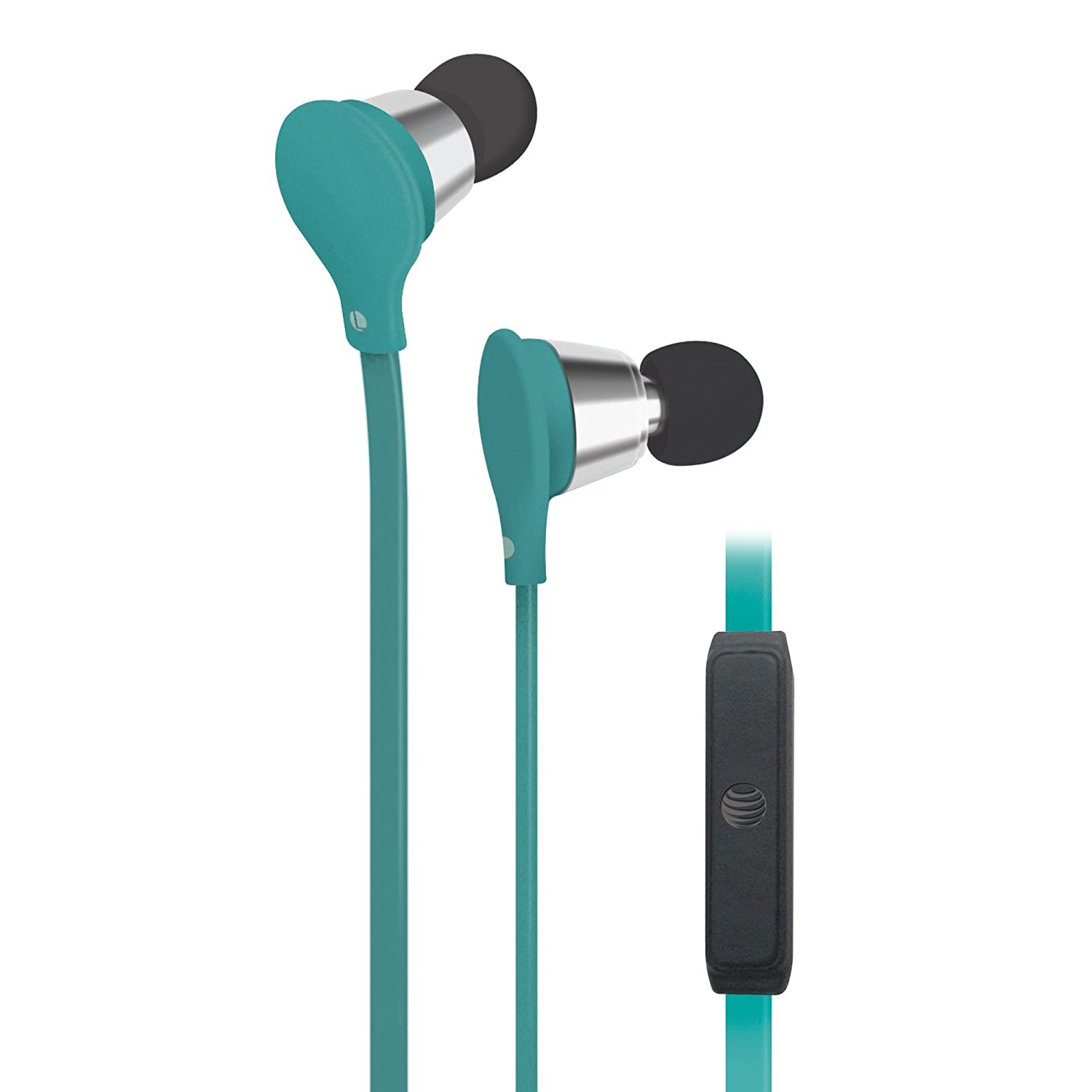 Amazon.com: AT&T Jive Music + Calls Stereo Headphones - Turqoise ...
