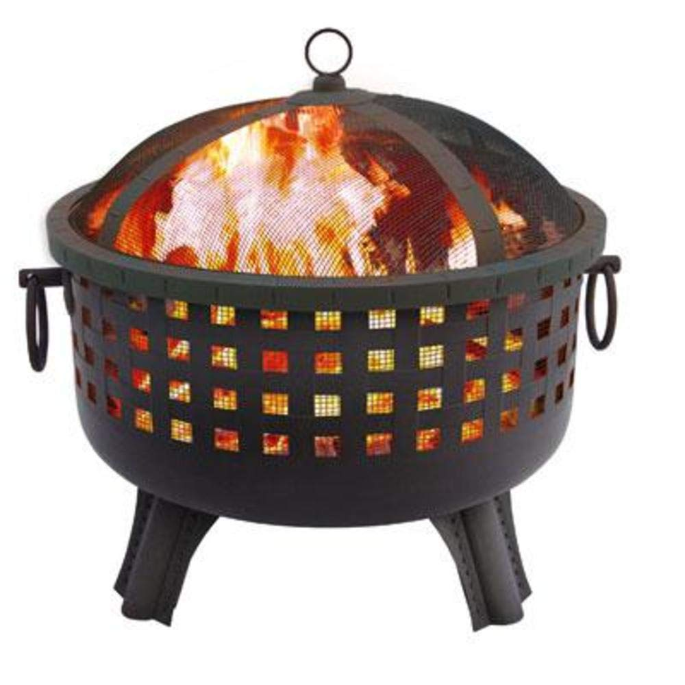 Regal Flame Ouray Ball Backyard Garden Home Light Wood Fire Pit. Perfect for RV, Camping, and Outdoor Fireplace. All You Need is Firewood. Works as Patio Heater, Stove or Firebowl Without Propane Gas by Regal Flame
