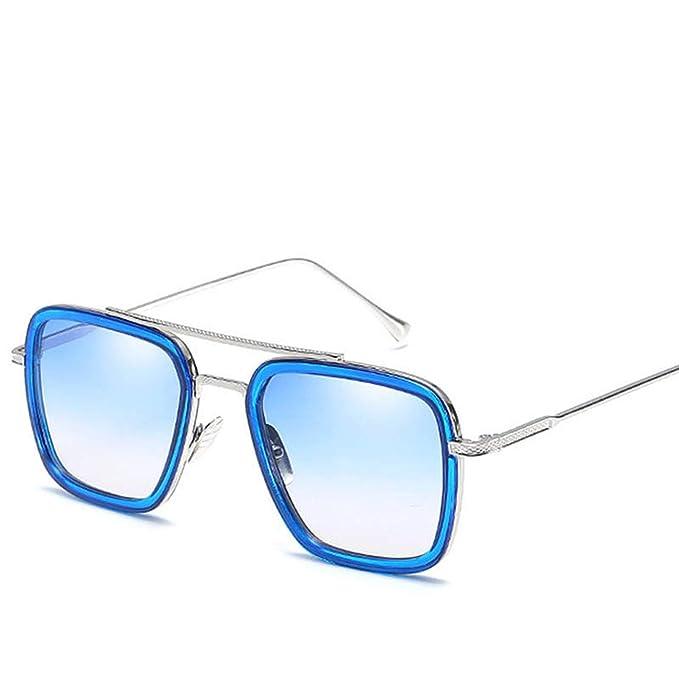 Amazon.com: Gafas de sol para hombre de moda, gafas de sol ...