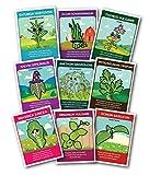 Zziggysgal Culinary Herb Set (Gift Box Set of 9)