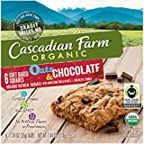 Cascadian Farm Organic Oats and Chocolate Soft Baked Squares, 7.44 Ounce