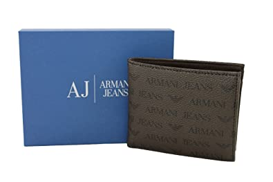 Armani Jeans - Cartera para hombre Hombre Marrón marrón ...