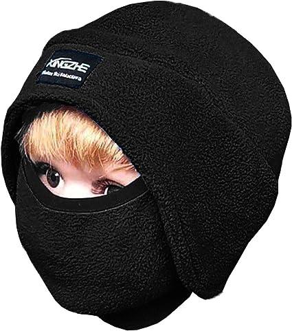 Winter SCARF snug neck masked and hat ski MOTOR bike unisex POLAR Fleece popular