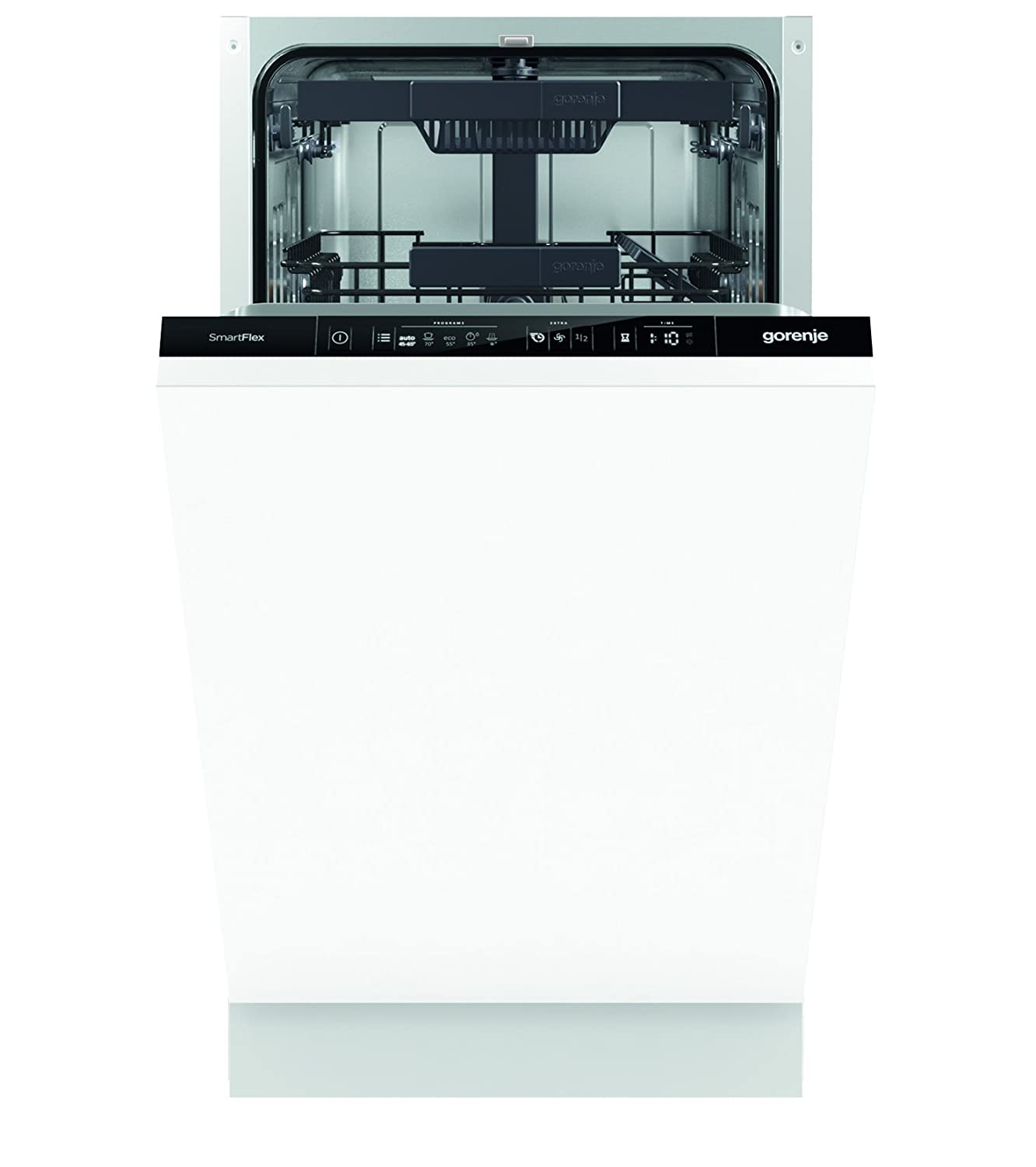 Built-in dishwashers Gorenje 45 cm: TOP of the best narrow dishwashers 76