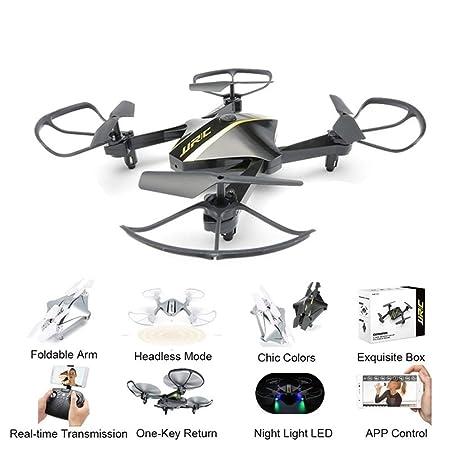 QUARKJK WiFi FPV 720P cámara Drones Plegable G-Sensor Selfie Mini ...