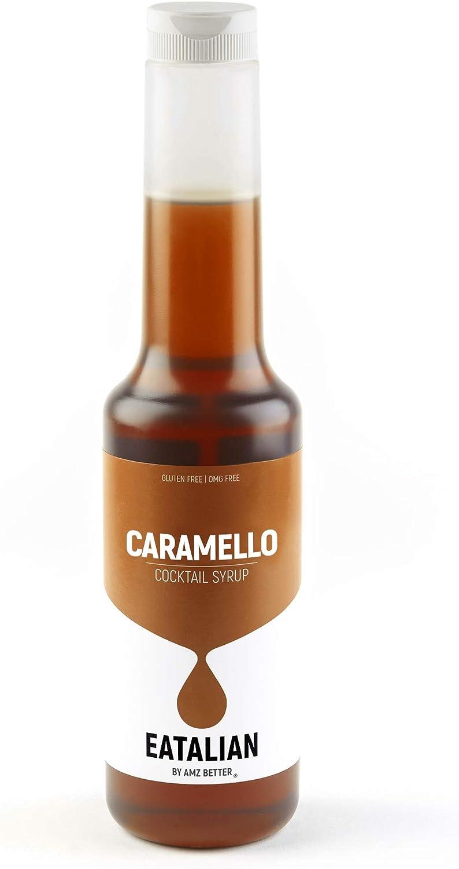 EATALIAN Everyday Syrup, Sirope de Caramelo 1 Kg, Ideal para ...