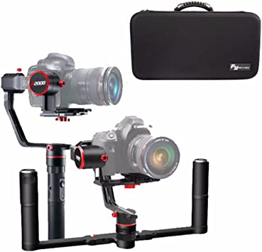 FeiyuTech FY A2000 - Estabilizador de 3 Ejes para cámaras réflex ...