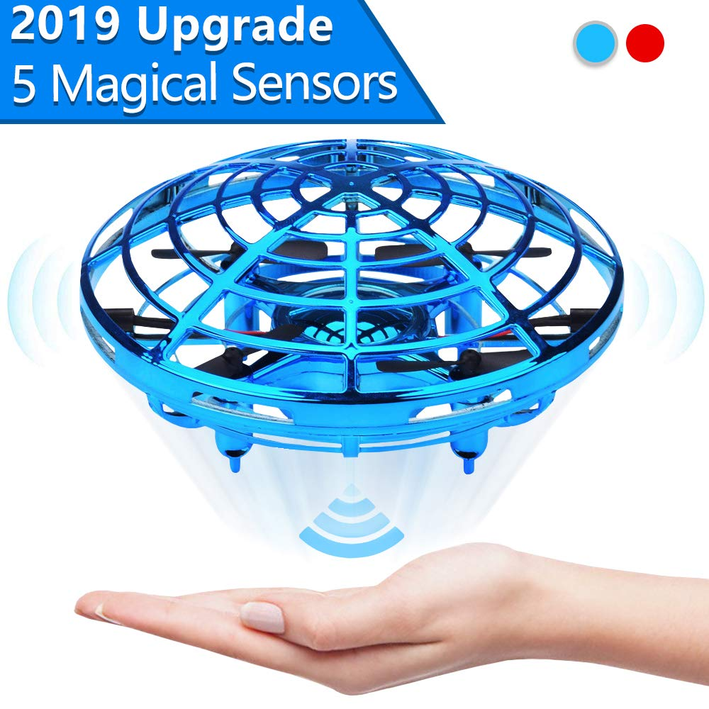 Jasonwell Hand Operated Drone for Kids Toddlers Adults - Hands Free Mini Drones for Kids Flying Toys for Boys and Girls Hand Drone Kids Self Flying Drone by Jasonwell