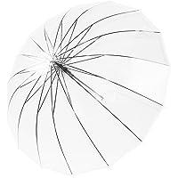 Kung Fu Smith Large Bubble Dome Auto Open Rain Clear Stick Umbrella
