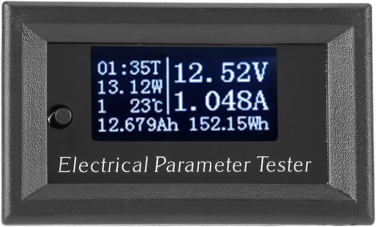 RD 7in1 OLED Multifonctions Tension Temps temp/érature de Puissance testeur capacit/é voltm/ètre amp/èrem/ètre /électricit/é m/ètres,100V-10A