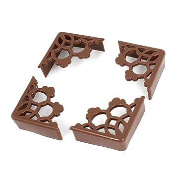 Möbel möbel braun schreibtisch : Möbel Braun Gummi Ausgehöhlt Design Tisch Schreibtisch Ecke ...