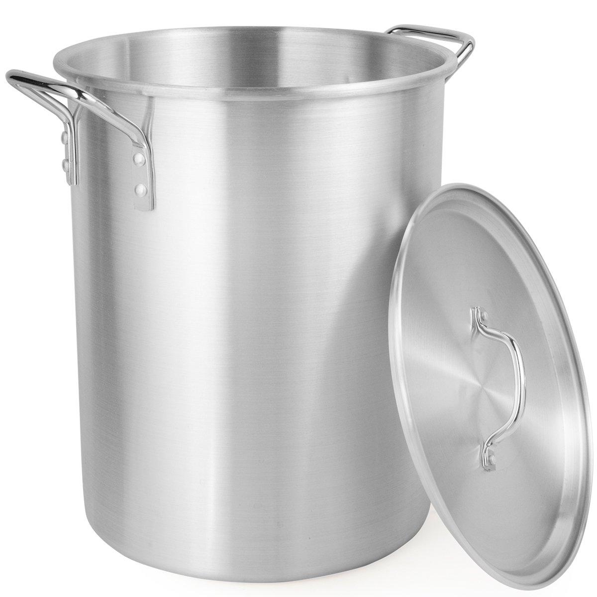 Amazon.com: 30 QT Aluminum Turkey Deep Fryer Pot and Gas Stove Burner Stand, 6 Pc Set: Home & Kitchen