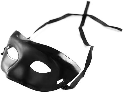 Amazon.com: Mardi Gras Negro Opera máscara para fiestas ...