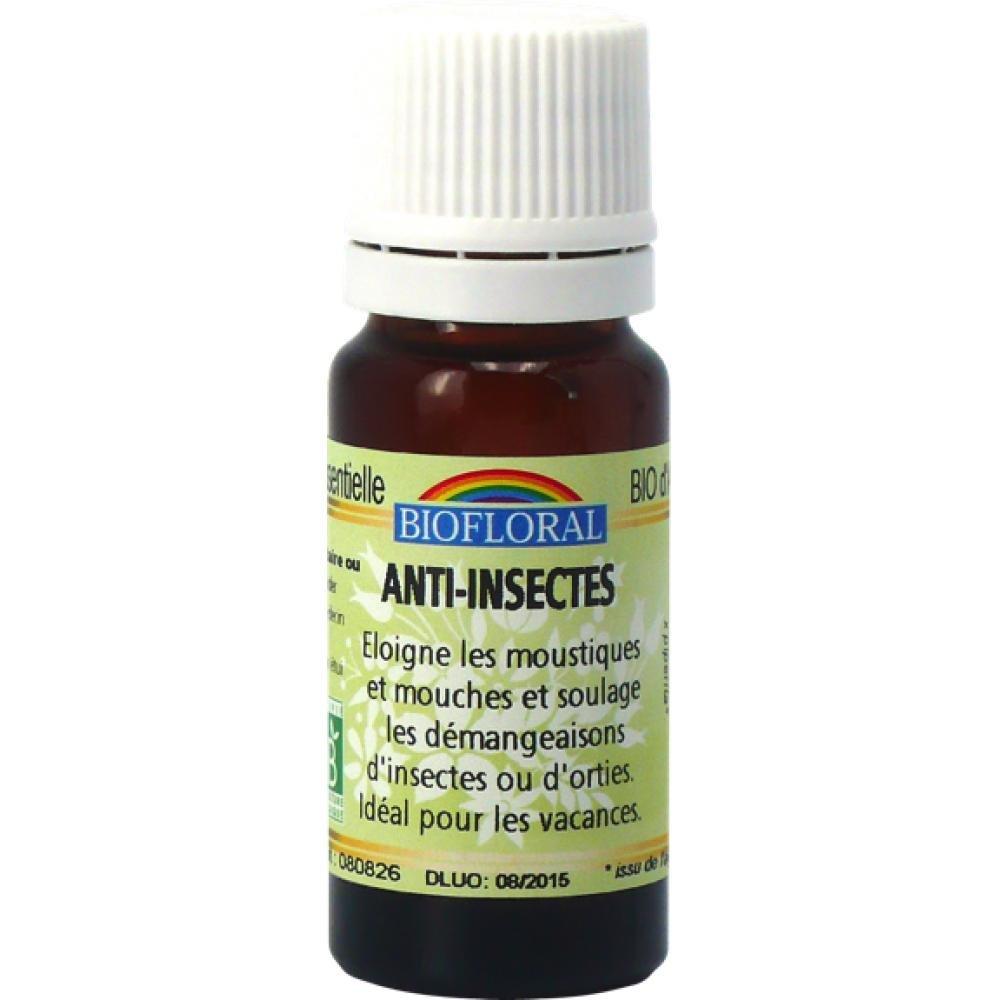 Biofloral Huile Ambiance Anti-insectes BIO 10 ml PB10531325