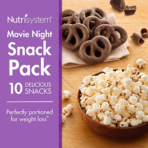Nutrisystem  Movie Night Snack Pack  10 Ct