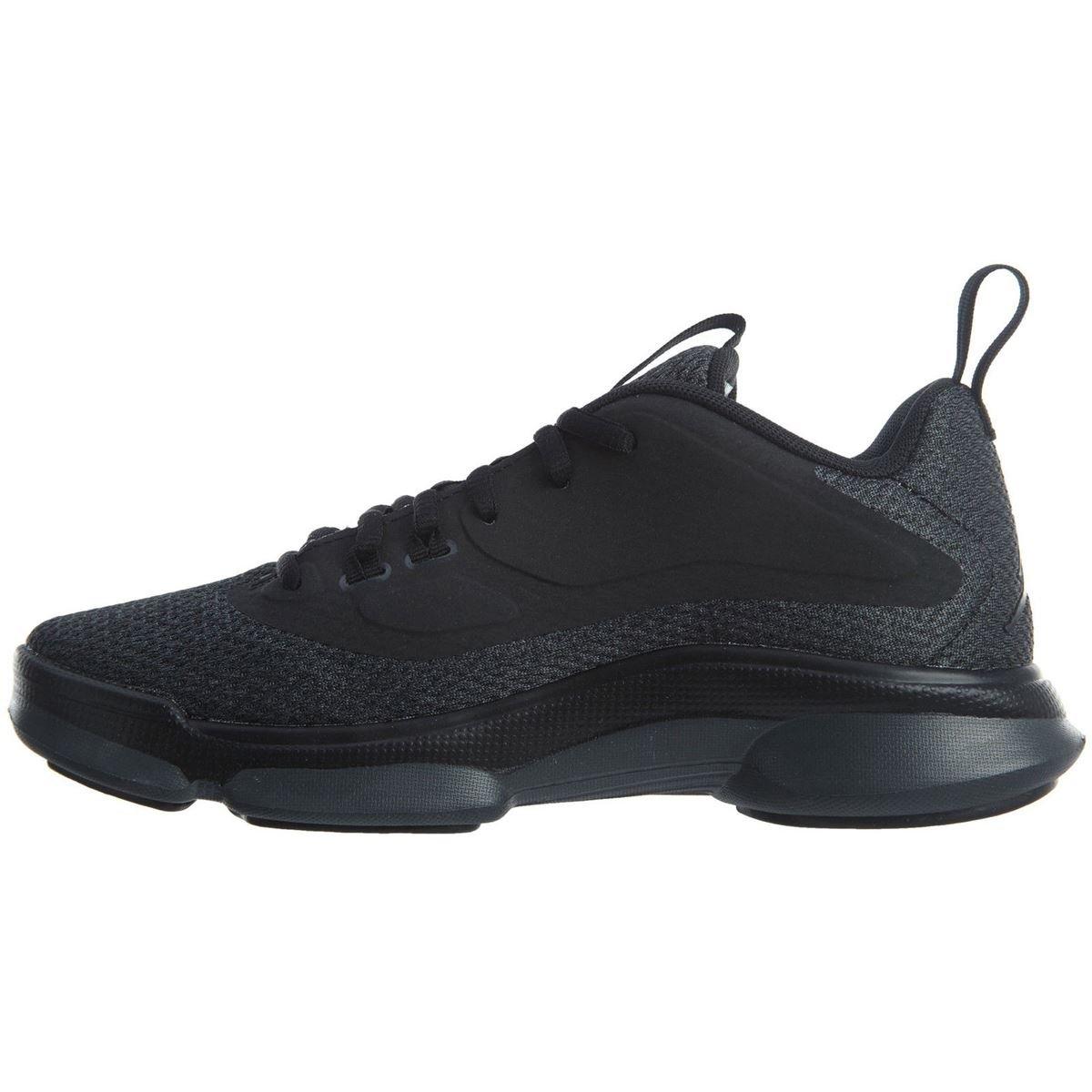 Nike Youth Jordan Impact Training Black Anthracite Mesh Trainers 38.5 EU