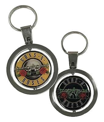 Amazon.com: Guns N Roses 912160053 - Llavero, diseño de bala ...