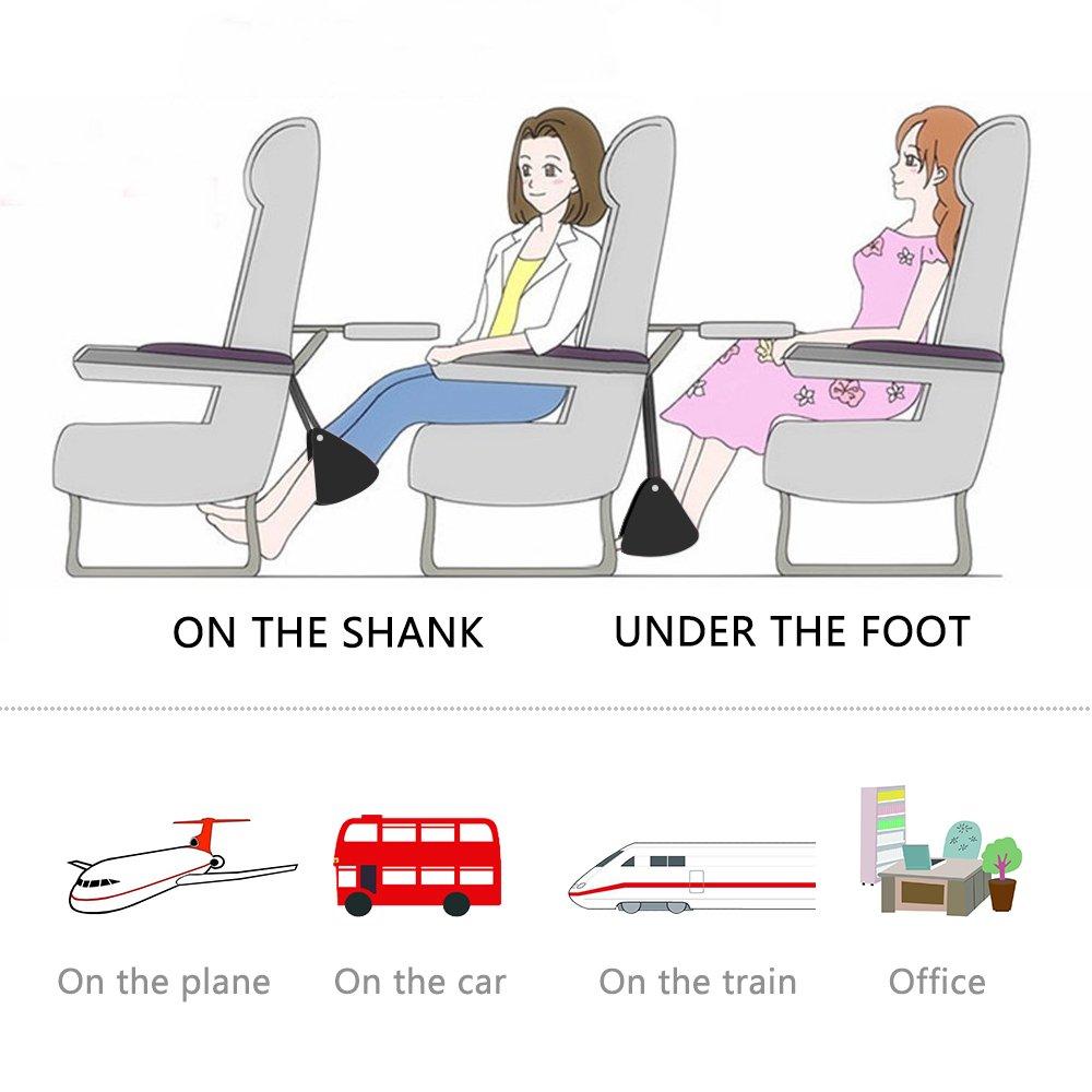 Fußablage fürs Flugzeug