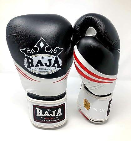 Amazon com : Raja Boxing Gloves AIR Leather MMA UFC Muay