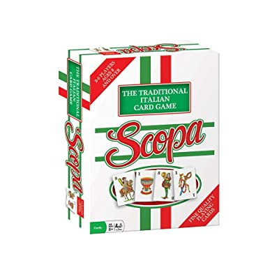 Scopa Traditional Italian Card Game: Game: Toys & Games