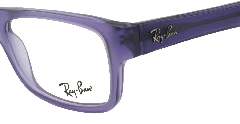 b09de341f8b Ray Ban RX5268 Eyeglasses-5122 Violet Sand Violet-48mm  Amazon.ca  Clothing    Accessories