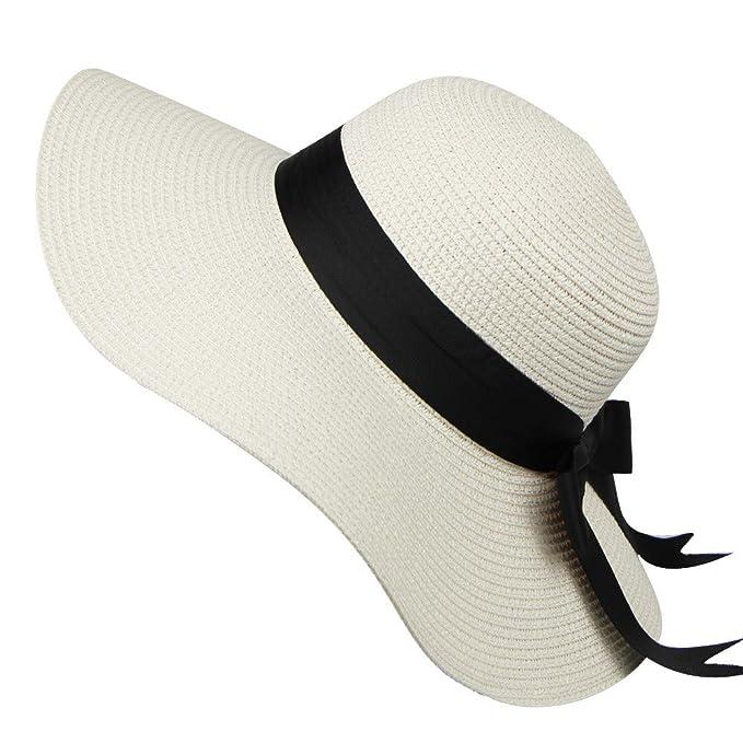 Sombrero de Paja Cebbay Liquidación Sombrero de Sol Protector ...