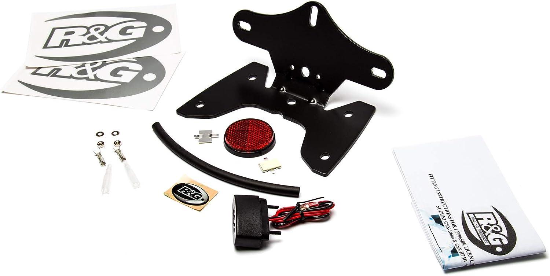 R/&G Kennzeichenhalter f/ür Suzuki GSXR600 und GSXR750 K8-L0 Modelle