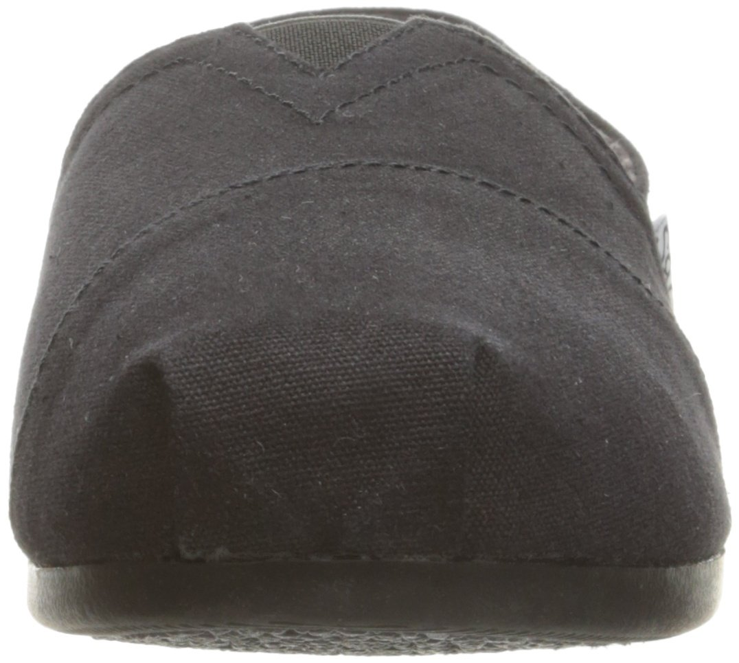 Skechers BOBS from Women's Plush - Peace and Love Flat, Black, 9.5 W US by Skechers (Image #4)