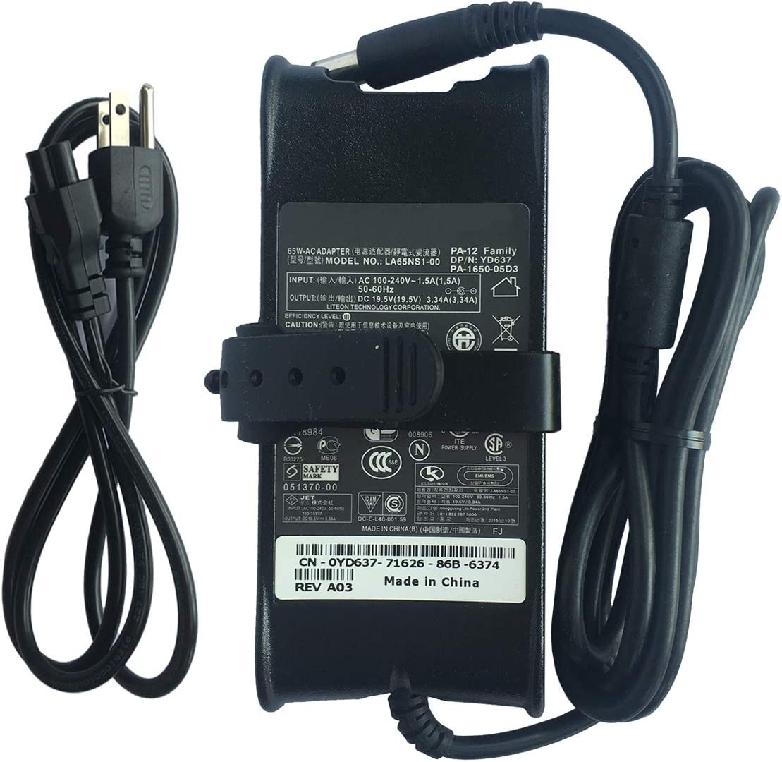 Laptop Charger PA12 PA-12 AC Adapter For Dell Latitude D410 D420 D430 D500 D505 D510 D520 D530 D531 D540 D600 D610 D620 D630 D631 D640 D800 D810 D820 D830 Inspiron Vostro Power Supply