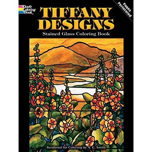 Dover Stained Glass Coloring Tiffany product image