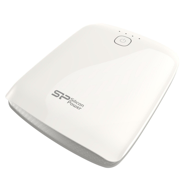 SP シリコンパワー 10400mAh モバイルバッテリー 高出力2.1A 急速充電対応