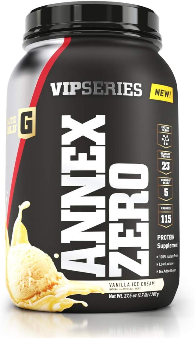 Complete Nutrition Elite Gold VIP Series Annex Zero Whey Protein Powder