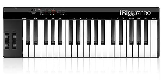 9 opinioni per IK MULTIMEDIA iRig Keys 37 PRO- Pianoforte digitale a 37 tasti per sistemi PC e