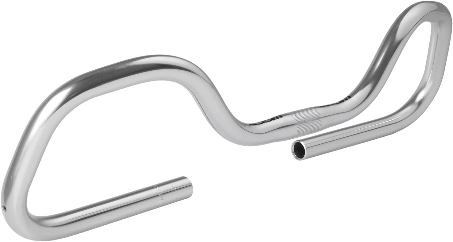 Silver Made of Aluminium Zoom Unisexs MH Multiposition Handlebar 590 Mm
