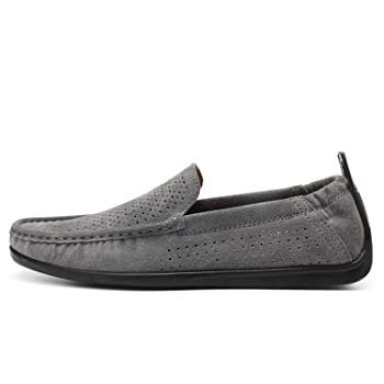 Spring Summer Genuine Leather Moccasins Driving Loafers for Men Shoes Flats Breathable Soft Light Footwear Slip On Boat