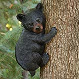 "Bits and Pieces - Baby Bear Up a Tree Garden Peeker - Tree Hugger - Outdoor Tree Sculpture - Gifts and Garden Décor Tree Hugger Faces for Trees - Bear Cub Resin Sculpture, 13-3/4"" long x 8"" wide"