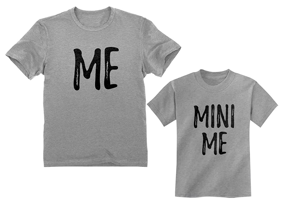 e2c6a3f600d8e Dad and Son Matching T-Shirts Funny Me & Mini Me Matching Set Outfit