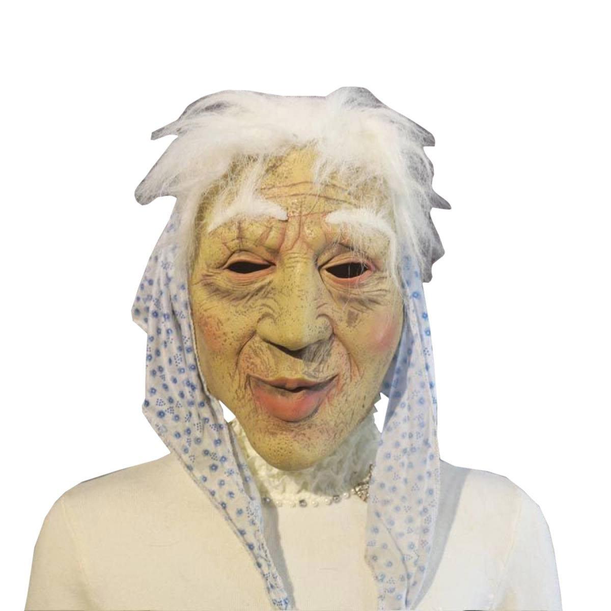 primera reputación de los clientes primero A Nihiug Antiguo Old Woman Halloween MásCochea Adulto Adulto Adulto MásCochea De Látex Hombres Y Mujeres Bola Horror Cabeza De La Cubierta Plaga Bird Mask Doctor Mask,A  nuevo listado