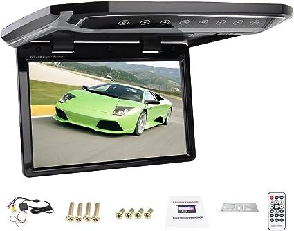 HD 12.1 inch USB SD HDMI FM Car 1080P Car Roof-mount//Flip down//Car Ceiling Wide//Over head Display//Drop Down LCD Monitor